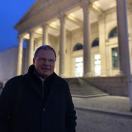 Feierabend nach der Plenarwoche im Landtag