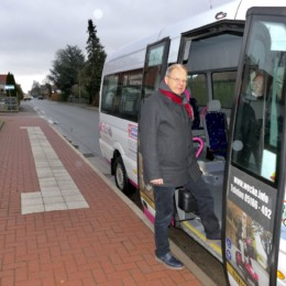 Unterwegs mit dem Bürgerbus