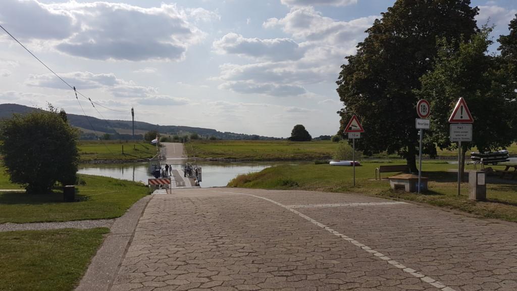 Die Weserfähre Großenwieden