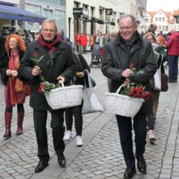 Zusammen mit Stephan Weil, MP in Hameln